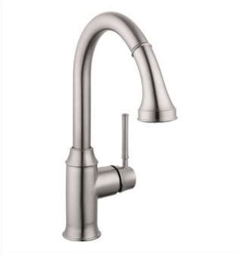 hansgrohe cento kitchen faucet solid brass steel optik hansgrohe 004215800 talis c higharc pull down kitchen