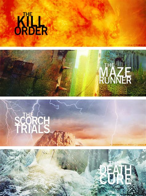 maze runner kill order film bad book series i stuck with hooked on books
