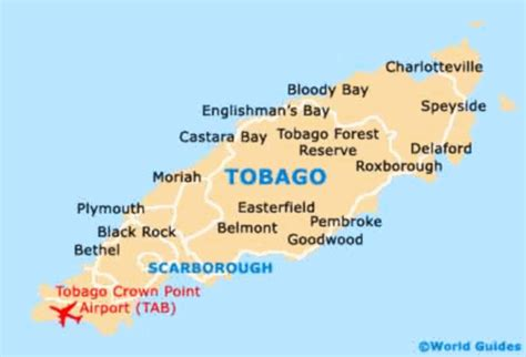 and tobago map tobago jazz experience april 20 28