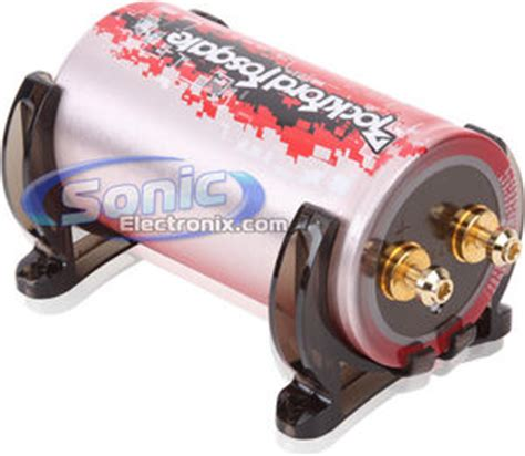fierce 1 farad capacitor rockford fosgate 1 2 farad punch performance series car capacitor