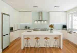 amazing kitchen design and concept with acrylic backsplash
