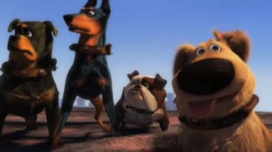 short film from up preview dug s special mission upcoming pixar