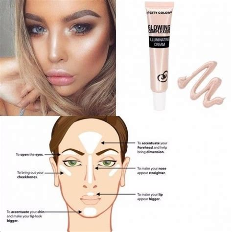 City Color Glow Primer city color glowing complexion illuminating