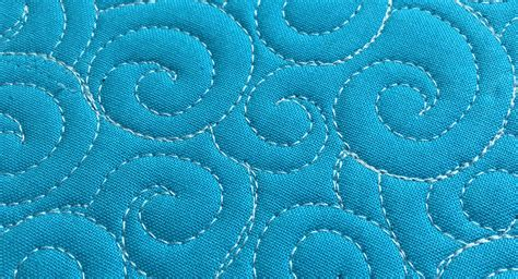 how to free motion quilt swirl designs weallsew