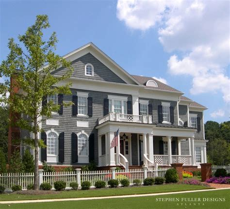 american style home design architectural home design