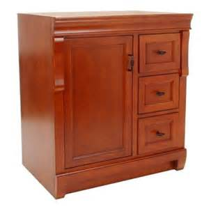 home depot bathroom cabinets in stock foremost naples 30 in vanity cabinet only in warm
