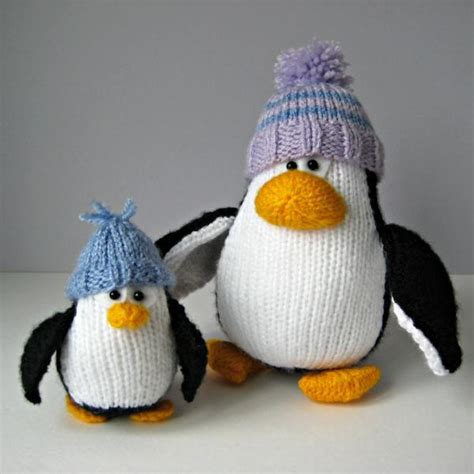 how to knit a penguin bobble and penguins knitting patterns on luulla