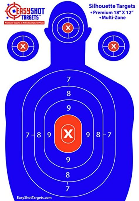 printable law enforcement shooting targets silhouette targets for shooting gun shots practice law