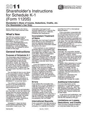 shareholders instructions for arkansas schedule k 1 fill