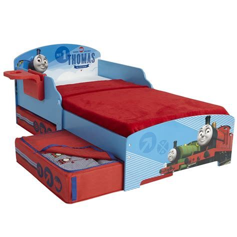 Is A Toddler Mattress The Same As A Crib Mattress Character Disney Junior Toddler Beds With Storage Shelf Mattress Option Ebay