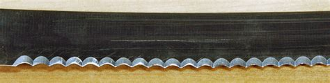 how to sharpen serrated blade sharpening a serrated knife