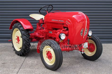 Porsche Diesel Traktor by Sold Porsche Junior Diesel Tractor Auctions Lot 23