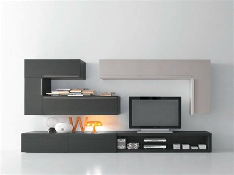 Meuble Tv Cachée 2426 by Sectional Tv Wall System Cf66 Modus Collection By Presotto