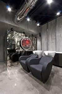 futuristic hair dresser salon intuitive interior design