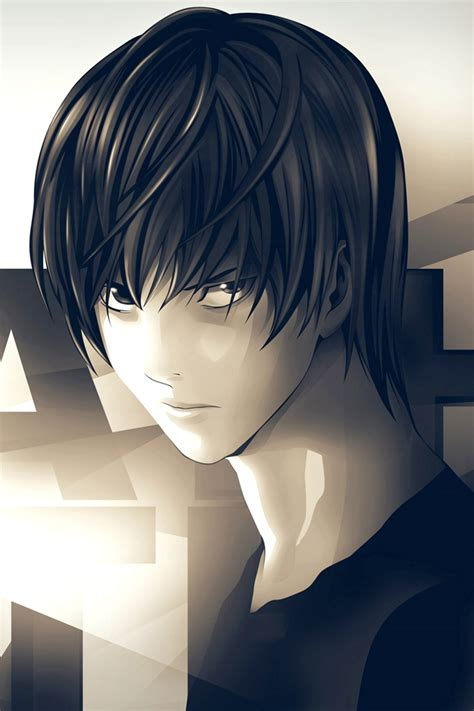 anime wallpaper retina display death note anime iphone wallpapers hd