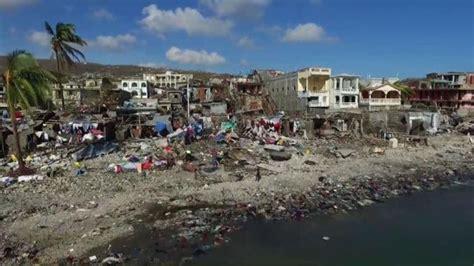 videosphotos usa today drone shows devastation after hurricane smashes through haiti