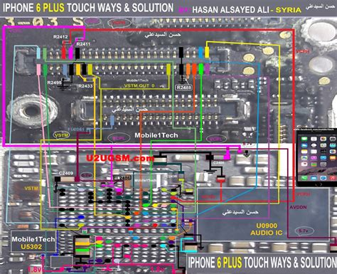 touch l not working iphone 6 plus parts diagram electrical schematic