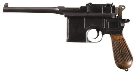 the broomhandle mauser weapon 1472816153 mauser military broomhandle pistol pistol firearms auction lot 6167
