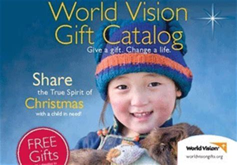 holiday gift catalog world vision
