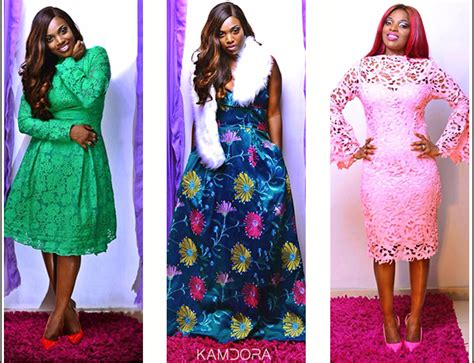 kamdora lace style annie idibia stars in abbyke domina 2016 luxe lace