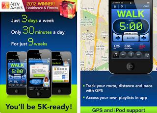 couch to 5k iphone app celebrities digital fitness tips popular iphone and smart