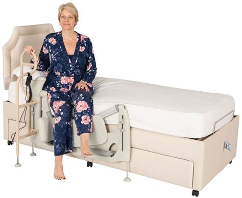 theracare leg lifter adjustable beds rotational beds
