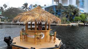 the tiki bar boat we need this for the bay jobbiecrew com