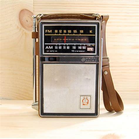 transistor radio vintage ge 1964 portable transistor radio