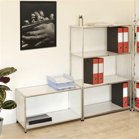 scaffale cromato libreria scaffale cromato con 3 ripiani bianchi 40x80xh80