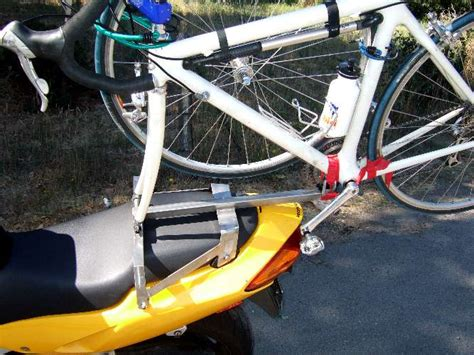 Mountain Bike Rack For Motorcycle by Motorcycle Mounted Mountain Bike Carrier