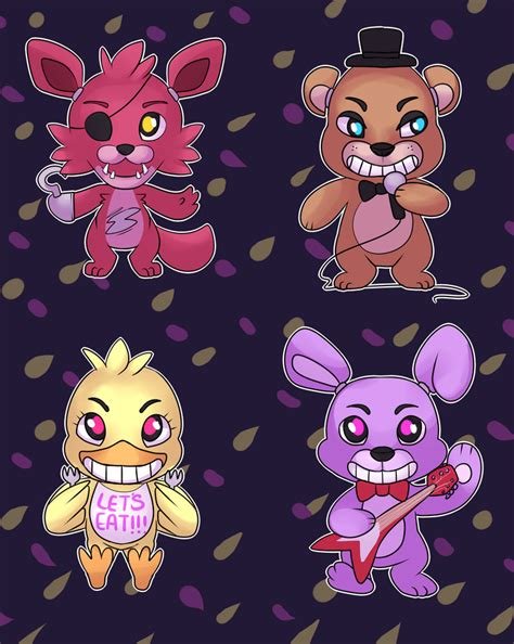 imagenes kawaii de five nights at freddy s kawaii nights at freddy s by pulsefirekitten on deviantart