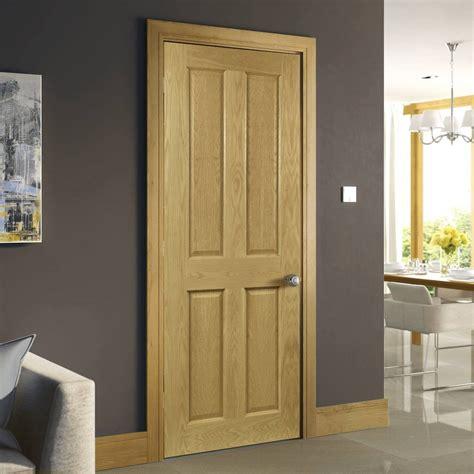 Prefinished White Interior Doors Deanta Bury Real American White Oak Crown Cut Veneer Door Prefinished 1 2 Hour