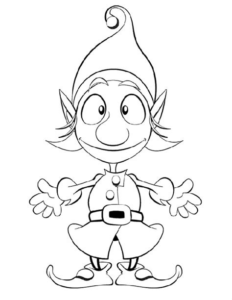 christmas coloring and activity pages santa s elf