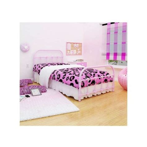 Pink Metal Headboard by Pink Metal Platform Bed With Headboard And Footboard