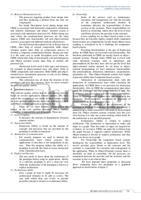 research papers in software engineering research paper on object oriented software engineering