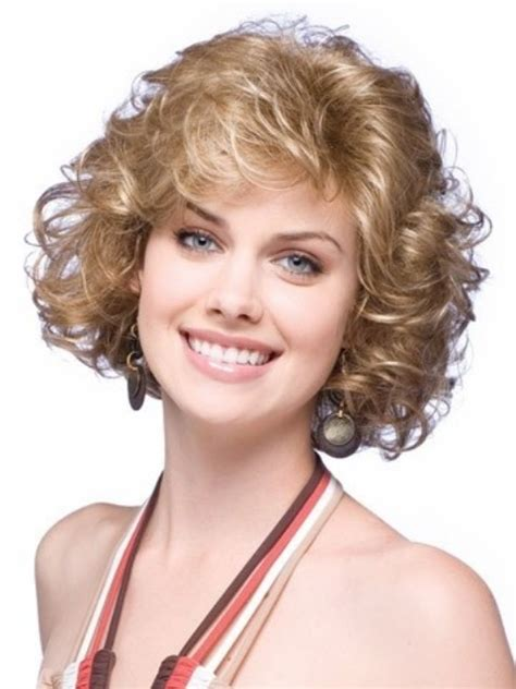 hairstyles for thick grey wavy hair 16 cute short hairstyles for curly hair to make fellow