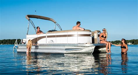Ultimate Floor Plans by 2017 Sx21 Cruise Pontoon Boats By Bennington