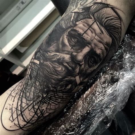 julian bodgan blackwork tattoo artist london