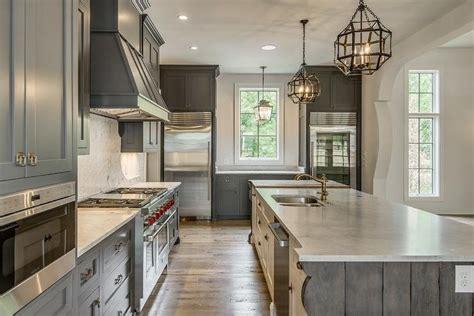 Meteran Wood 5m mediterranean kitchen features gray shaker cabinets