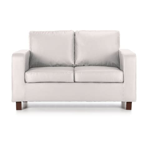 white leather settee buy cheap white leather sofa compare sofas prices for