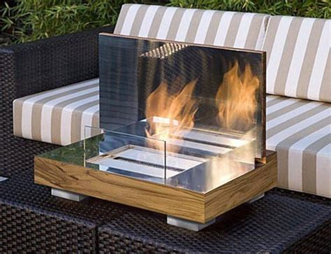 modern portable fireplace small patio designs small patio ideas and pictures