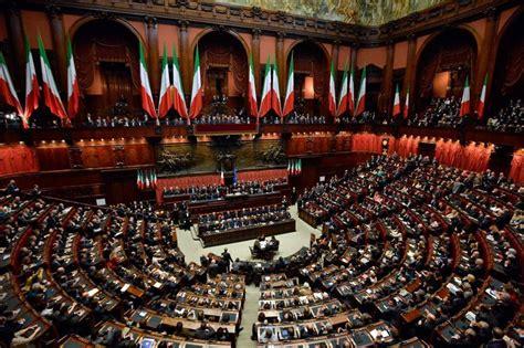 parlamento in seduta comune napolitano giuramento bis fermezza e commozione