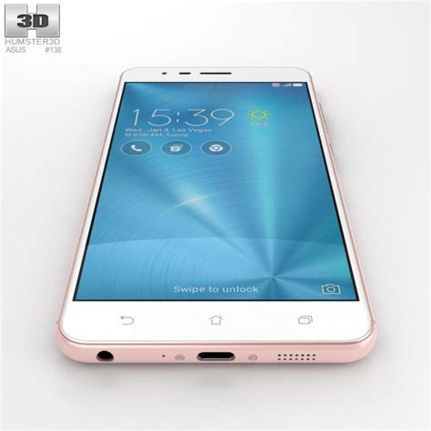 Asus Zenfone 3 Zoom Fuze Anti Original asus zenfone 3 zoom gold 3d model hum3d