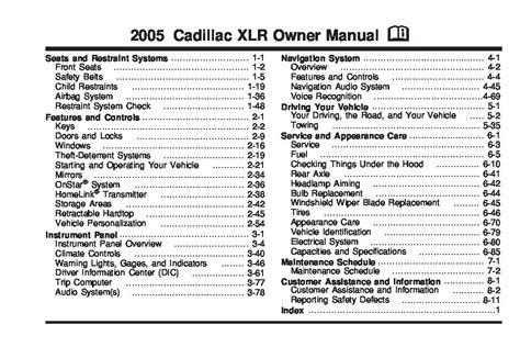 cadillac xlr owners manual  give   damn manual