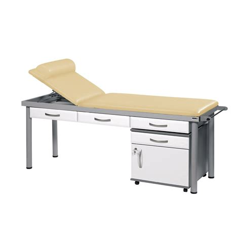 examination couch with drawers sunflower practitioner deluxe examination couch 3 drawers