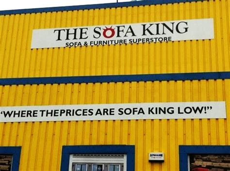 Sofa King Store by Retail Hell Underground Store Names