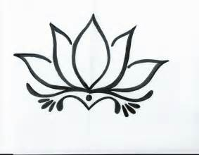 Simple Lotus Drawing Simple Lotus Drawing Drawing Gallery