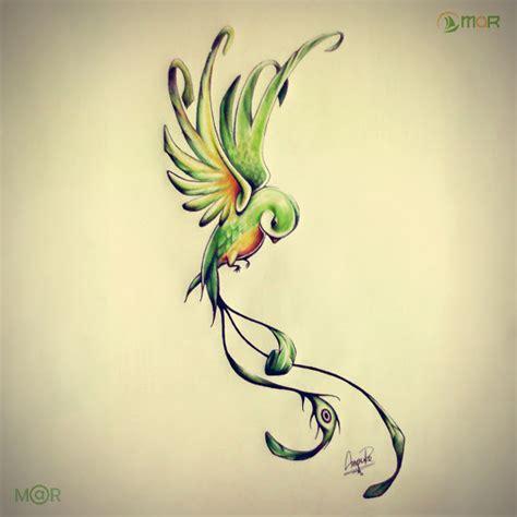 imagenes de quetzal a lapiz dibujo quetzal con lapices de colores en papel bond