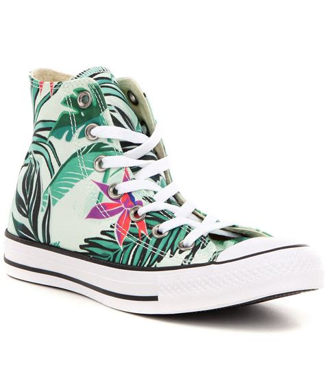 amazoncom converse chuck taylor all star high top converse women 180 s chuck taylor 174 all star 174 hi top floral