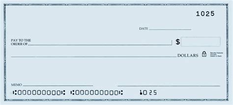 Printable Personal Blank Check Template Check Blank Check Blank Everything Blank Check Check Printing Template